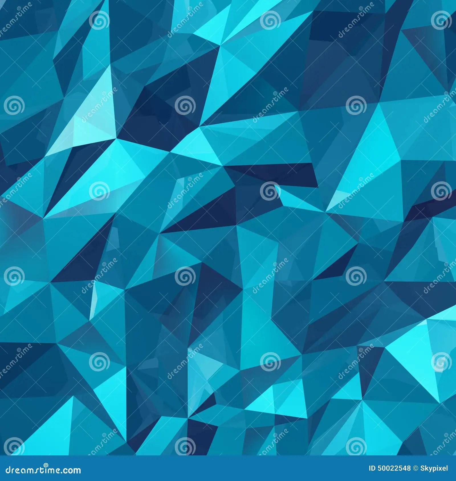 Geometric Triangle Background Stock Illustration