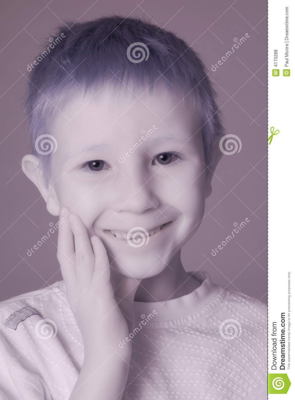 Ghost Boy Stock Photo Image Of Emotion Infrared Child
