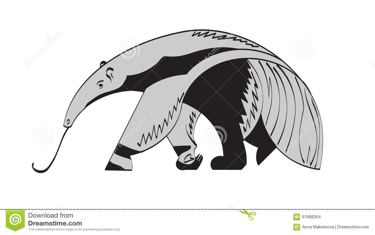 Anteater Cartoons Illustrations Amp Vector Stock Images