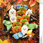 Gingerbread Halloween Cookies Stock Image Image Of Food Cookie 103317283