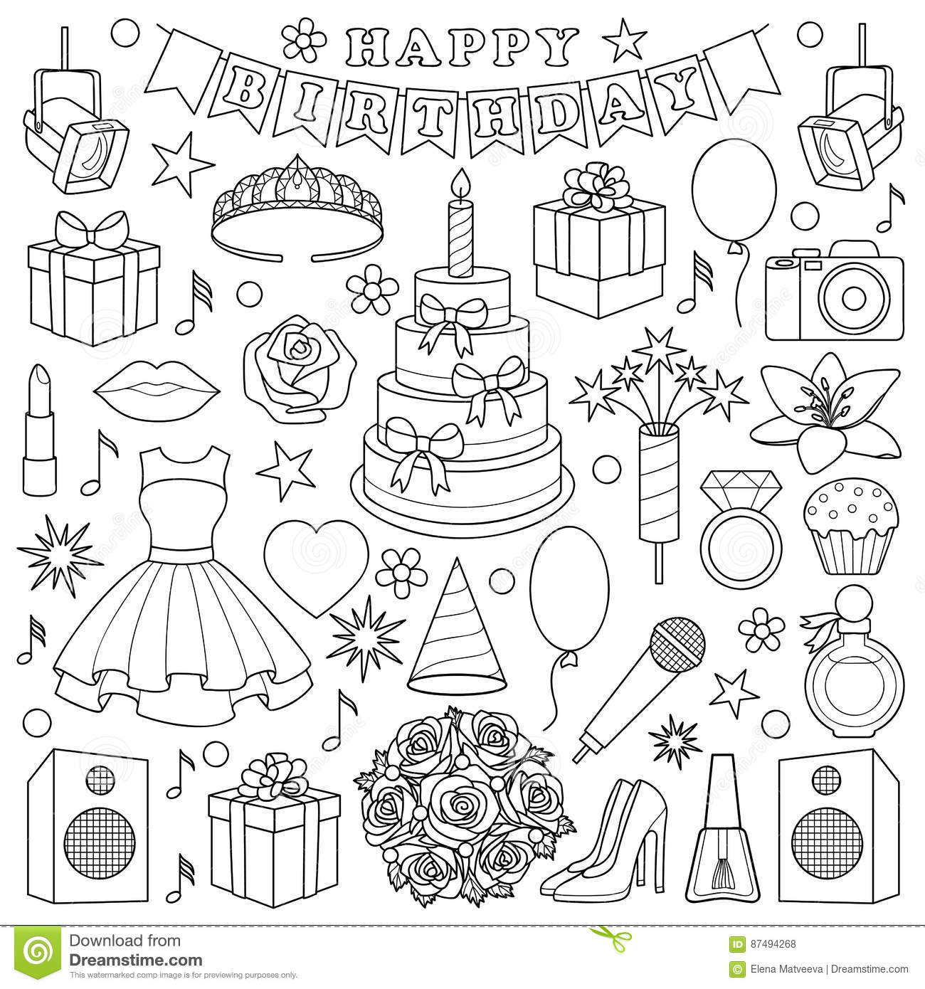 Quinceanera Cartoons Illustrations Amp Vector Stock Images