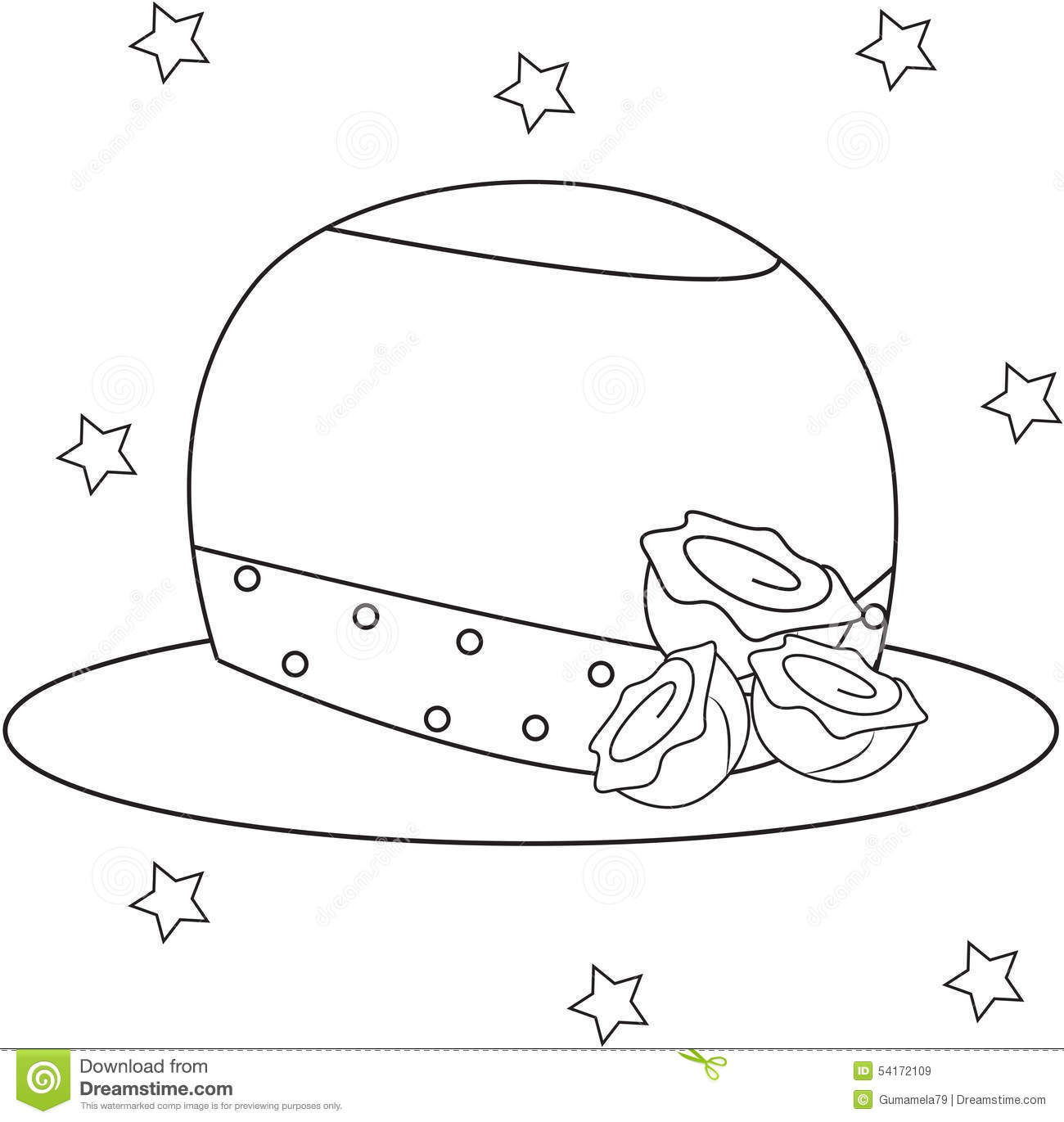 Baker S Hat Sheets Coloring Pages