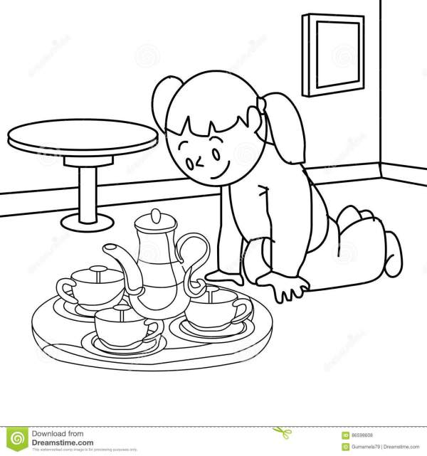 teapot coloring page # 37
