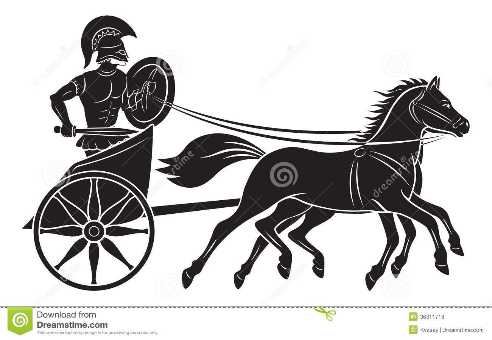 Gladiator Stock Photo Image Of Black Amphora Fight