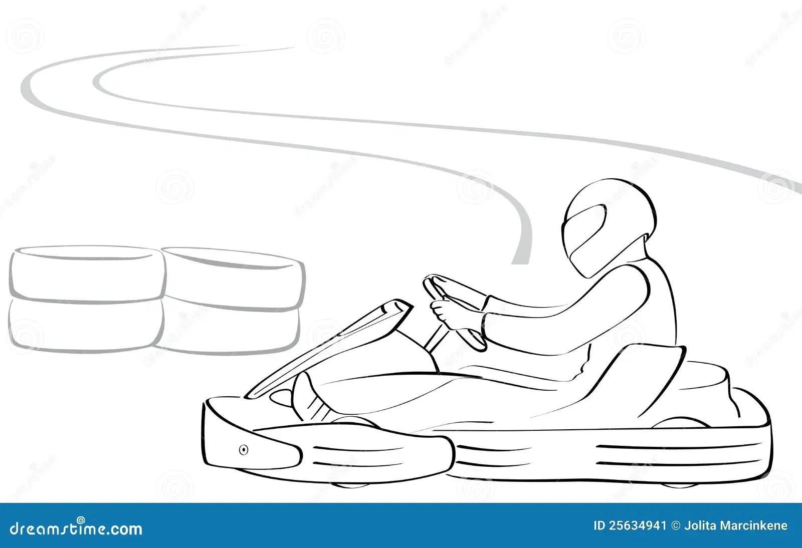 Go Kart Stock Image
