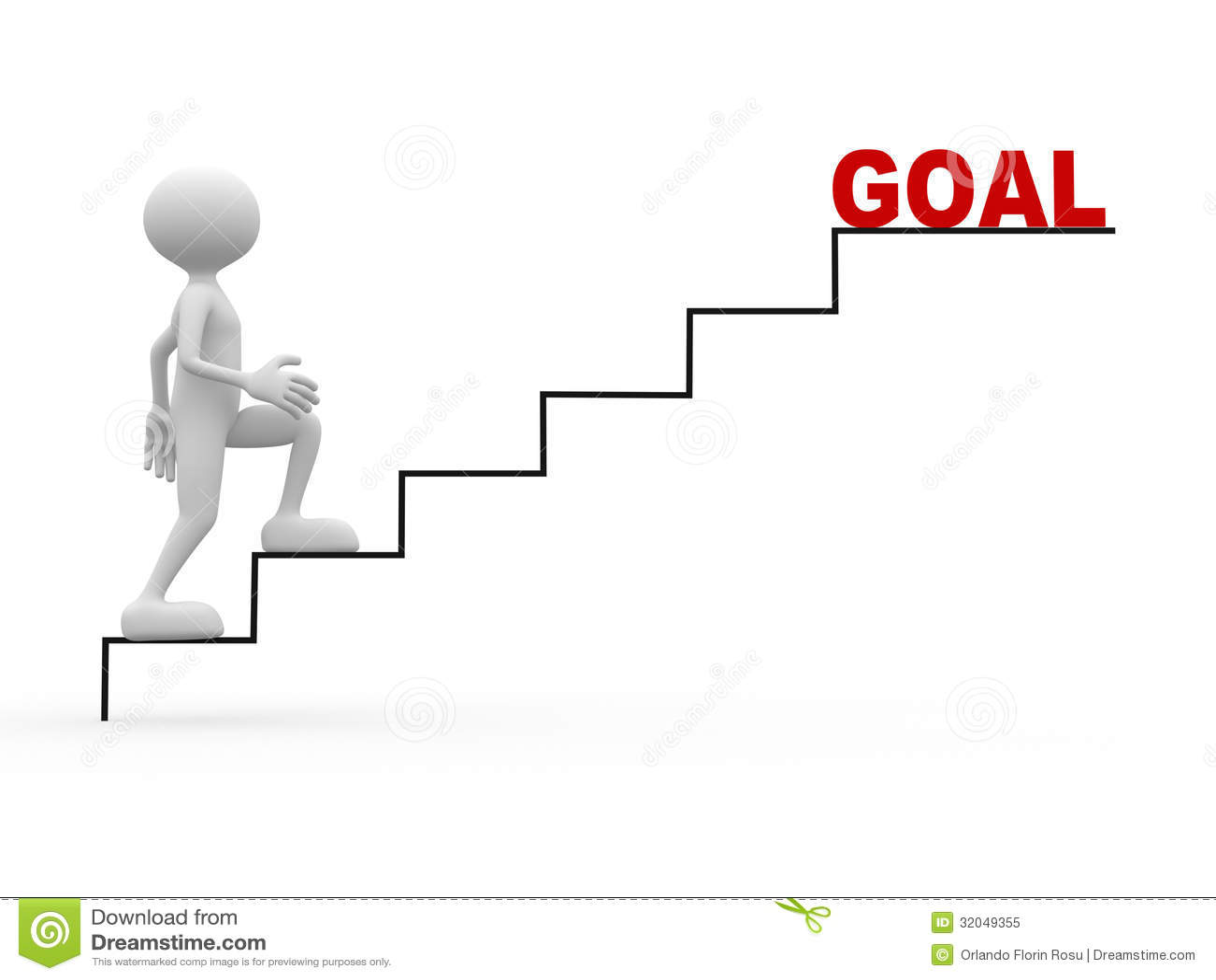 Goal Stock Illustration Illustration Of Growth