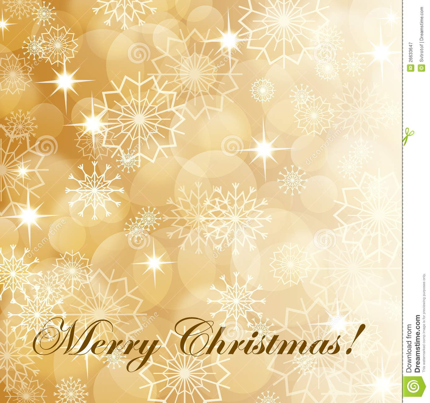 Gold Christmas Background Stock Vector Image Of Glowing