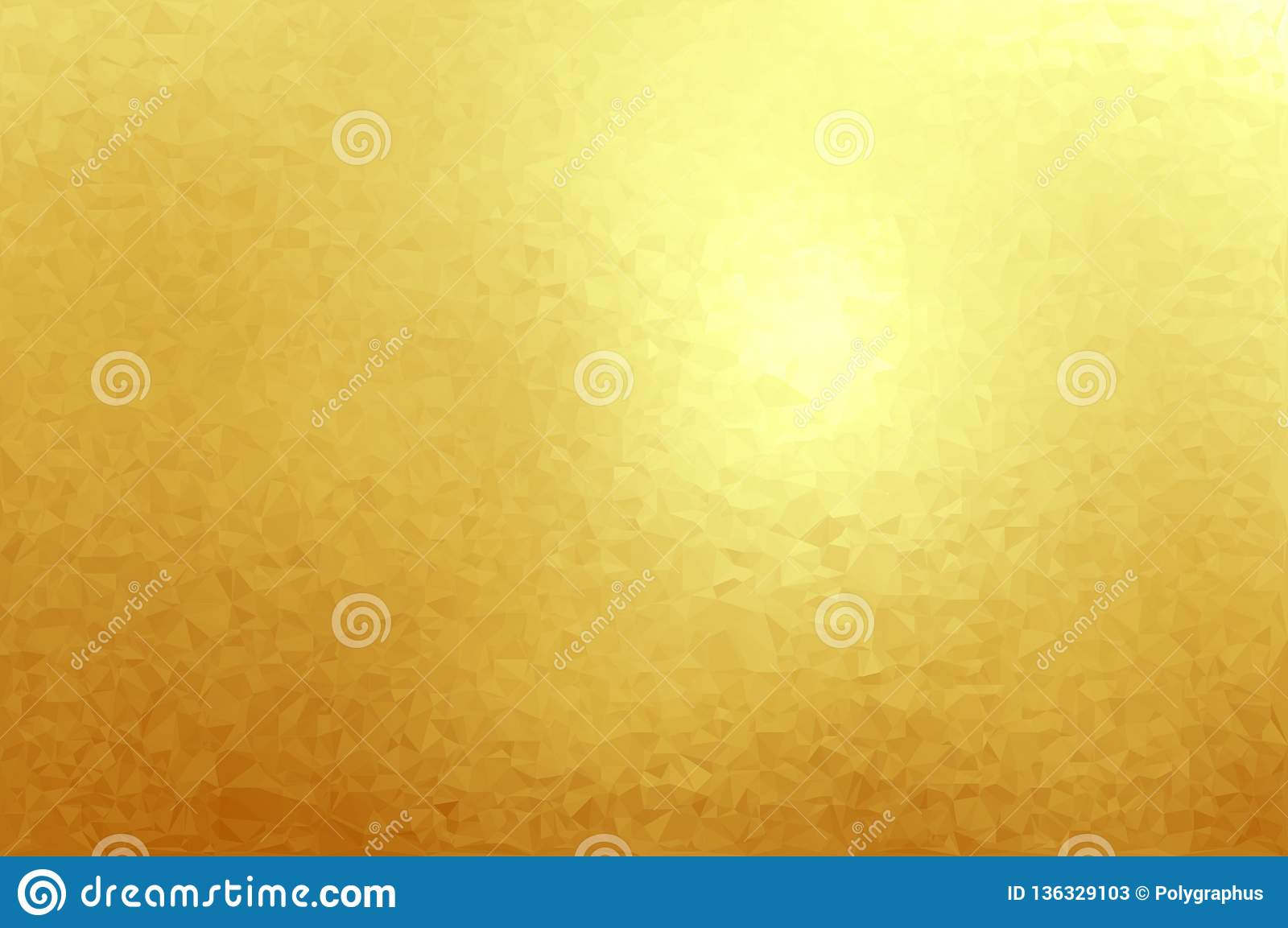 Gold Foil Texture Background Abstract Vector Illustration Stock Vector Illustration Of Card Golden 136329103