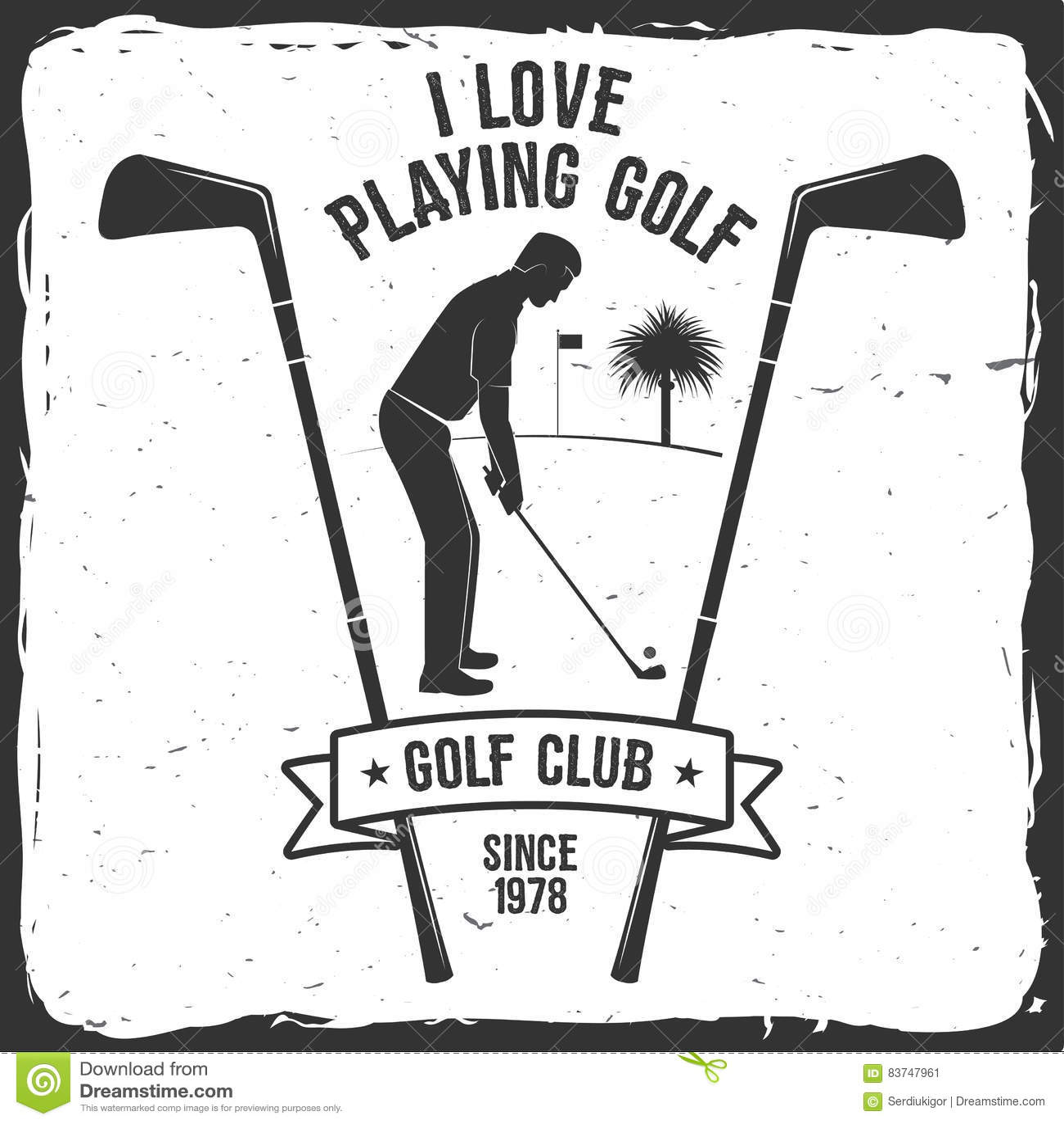 Golf Club Stock Illustrations 14 129 Golf Club Stock