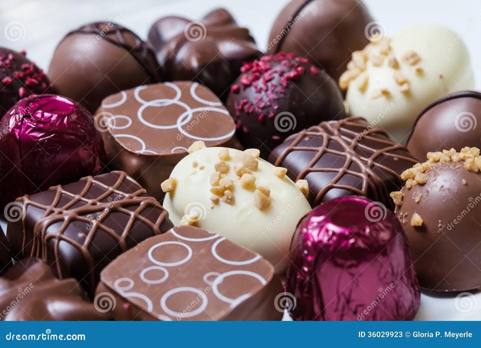 Gourmet Chocolates Stock Image Image Of Filled Holiday