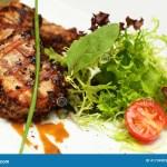 Gourmet Food Restaurant Meat Stock Image Image Of Meat Pork 41734905