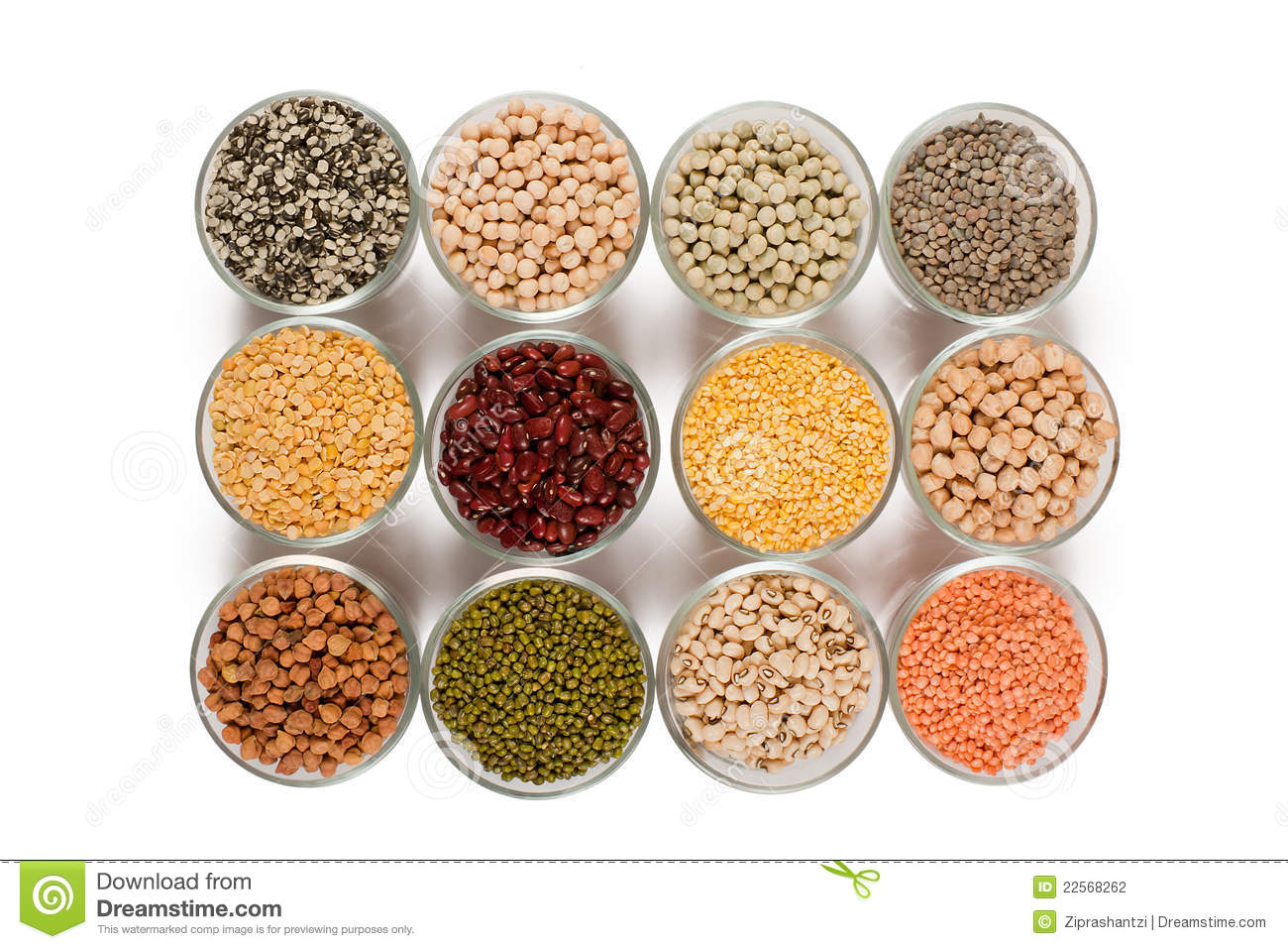 Grains Pulses And Beans Stock Photo Image Of Staple