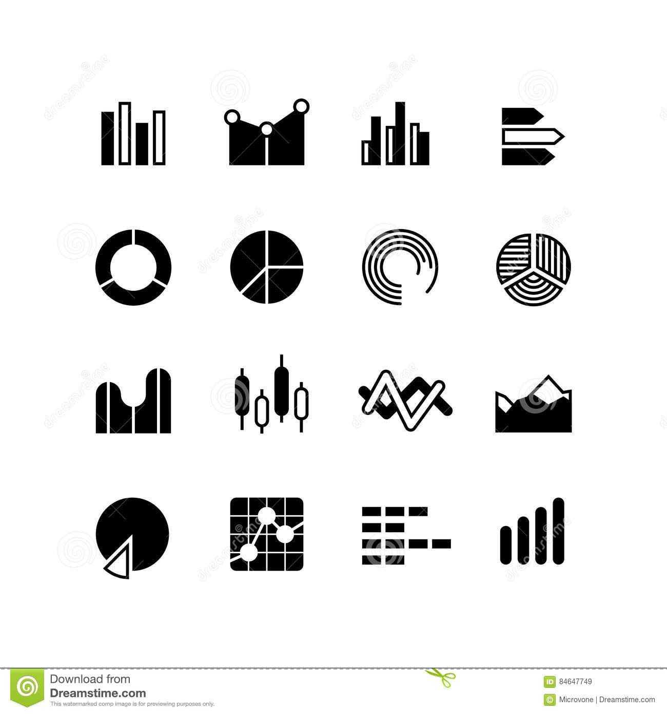 Graphic Graph Stats Data Bar Infographic Charts