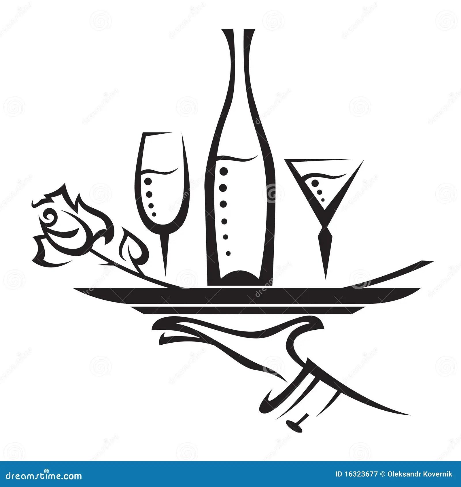 Graphisme De Restaurant Illustration De Vecteur