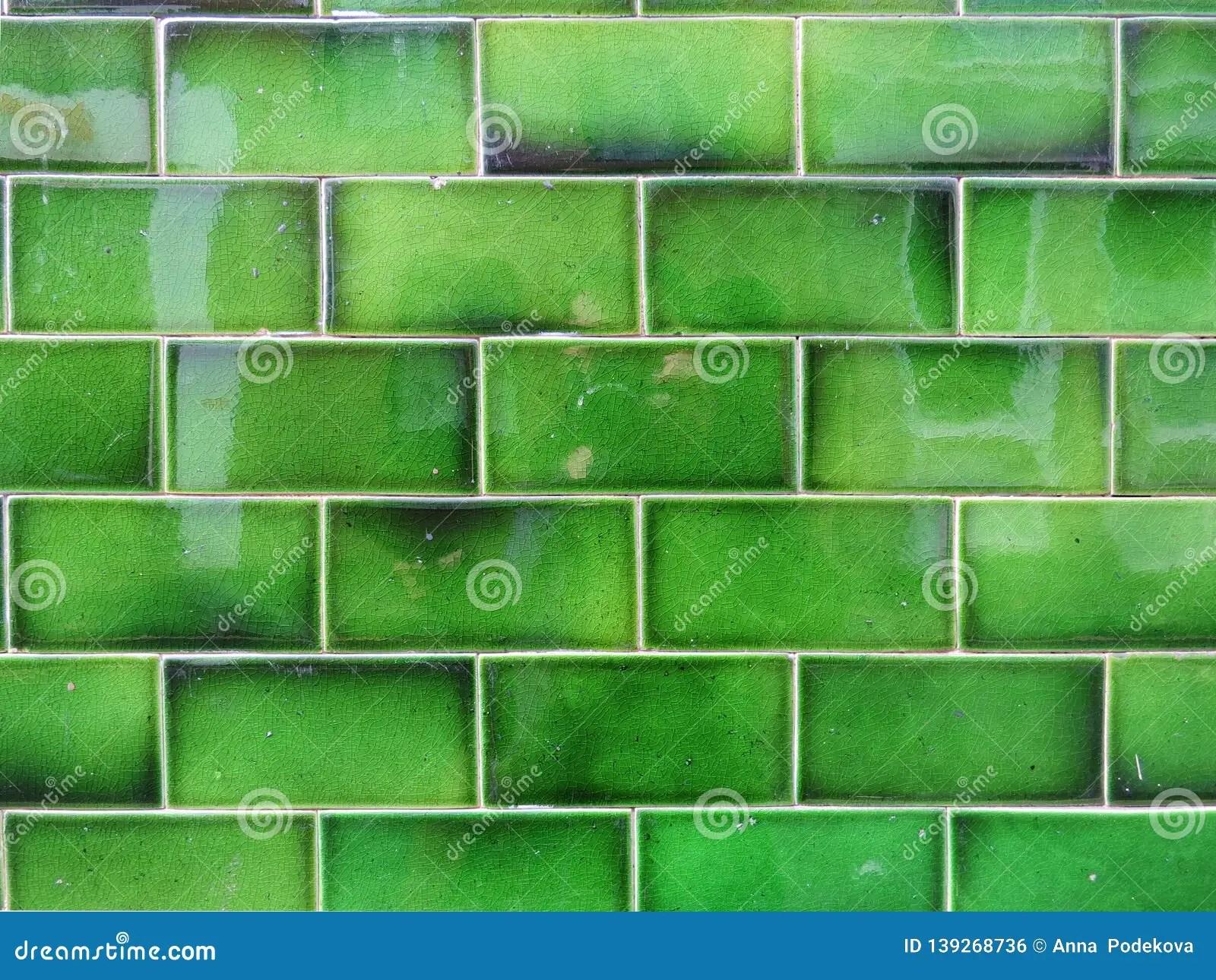 https www dreamstime com green glazed wall ceramic terracotta tile texture background green wall ceramic terracotta tile texture image139268736