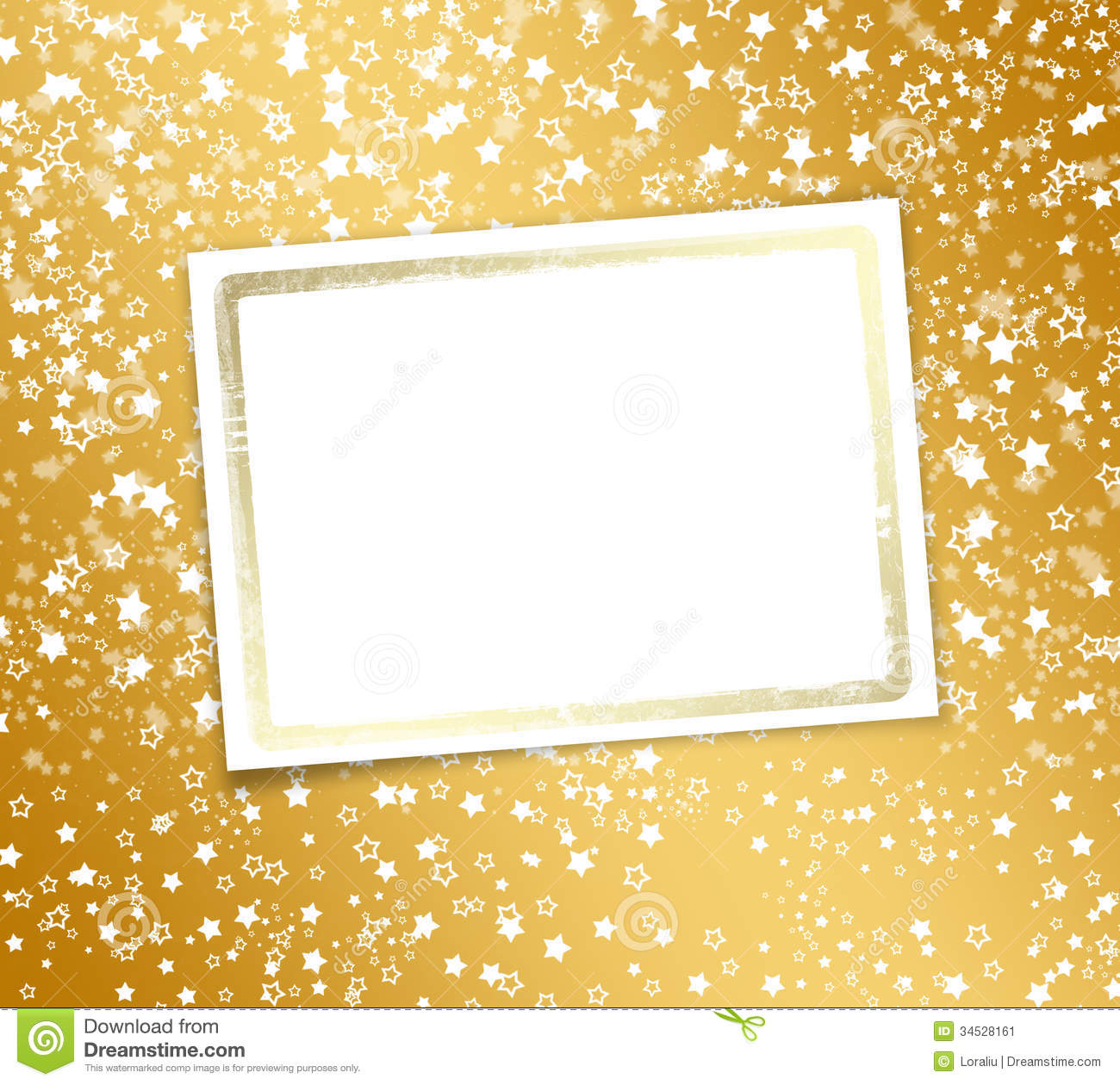 Greeting Card With Frame Stock Image Image 34528161