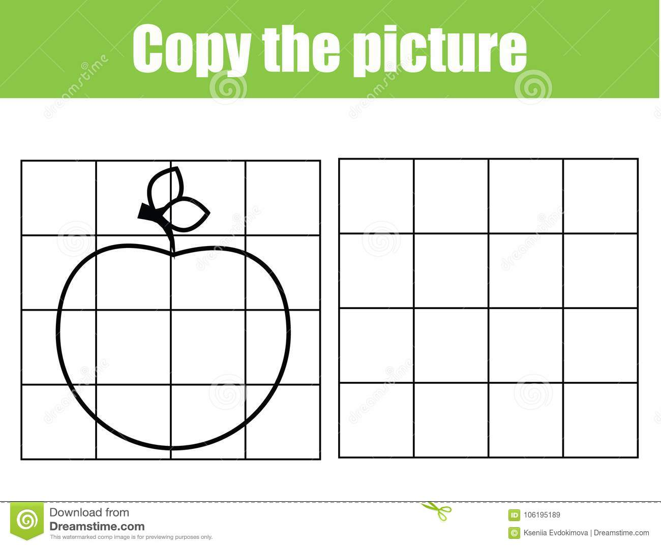 Copy Art Worksheet