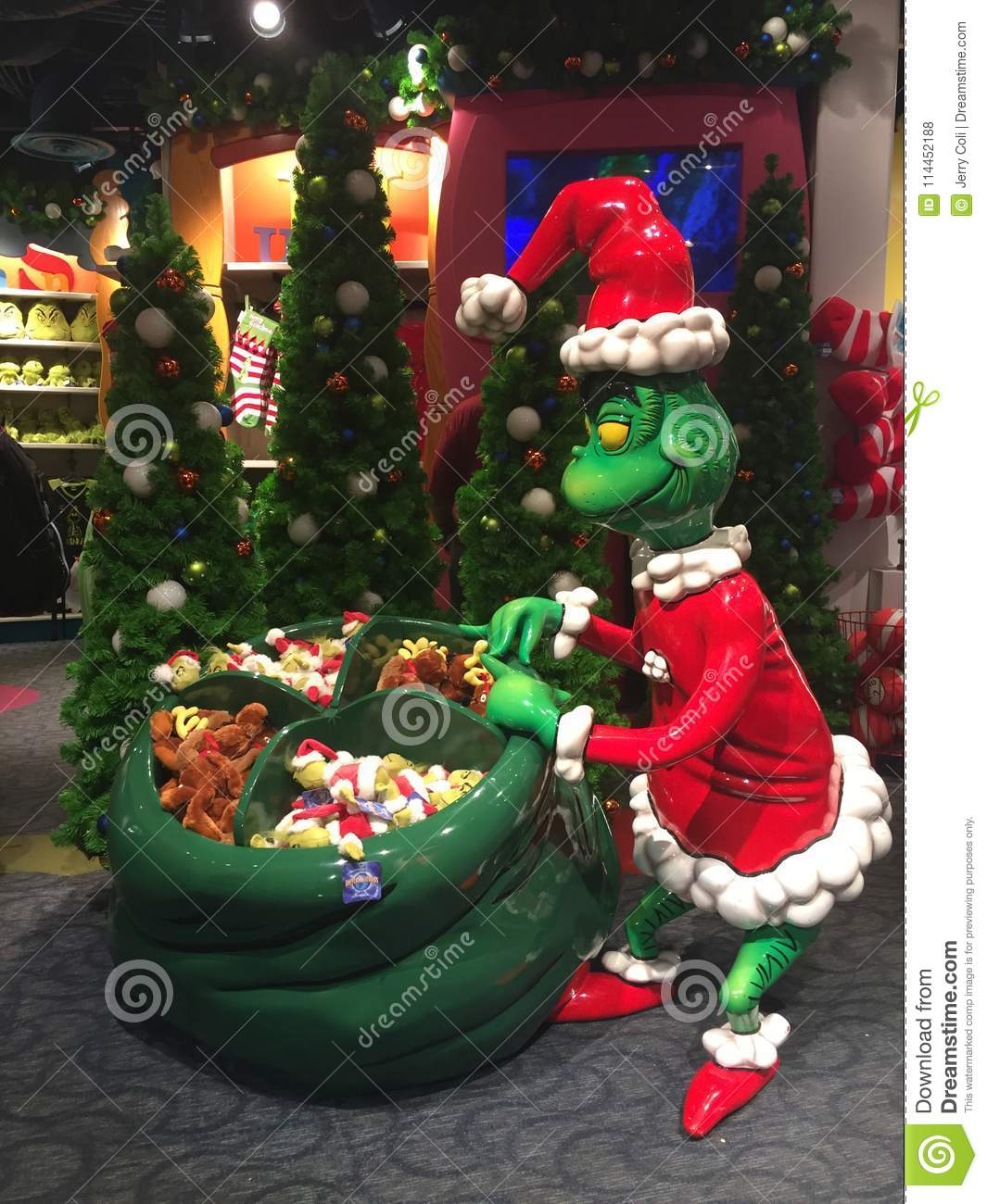 The Grinch Who Stole Christmas Editorial Stock Photo