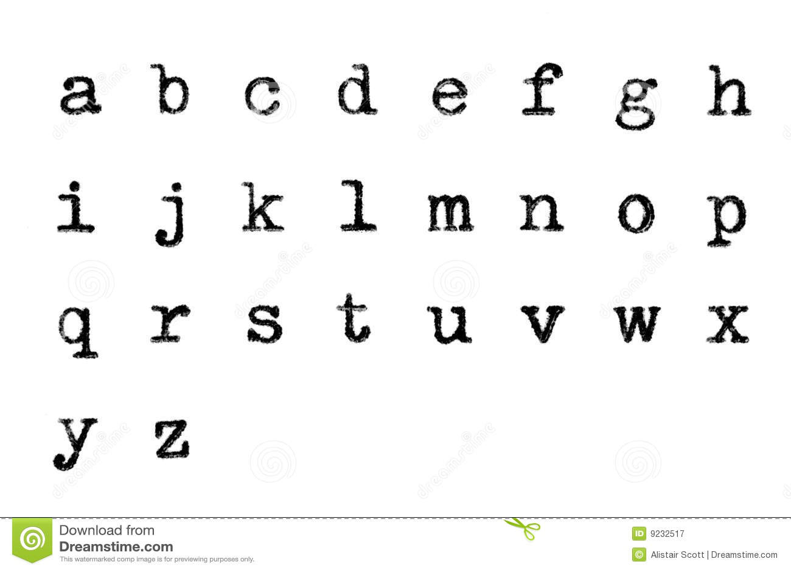 Grungy Font