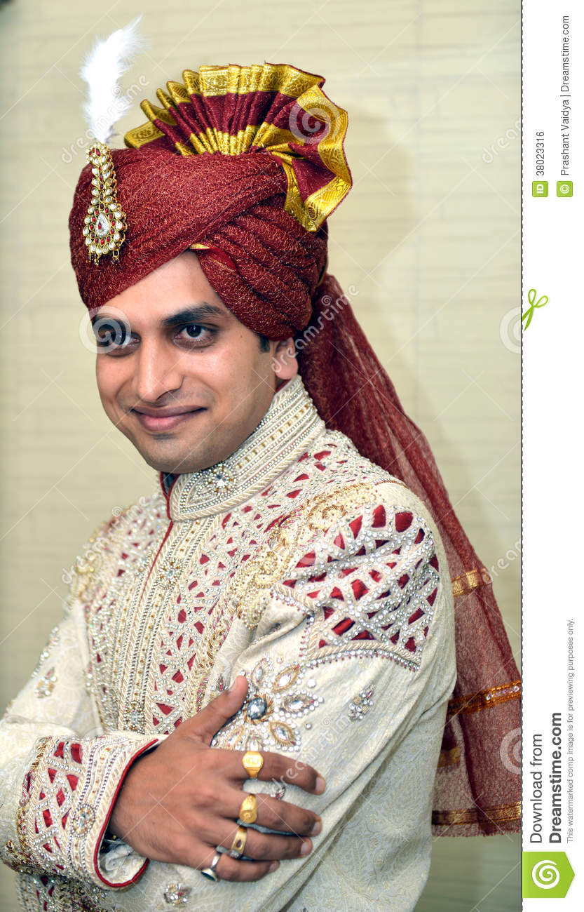 Gujarati Groom Editorial Photo Image 38023316