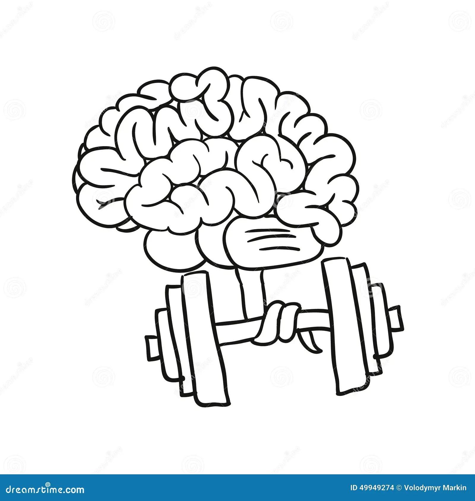 Gymnastics For The Mind Stock Illustration