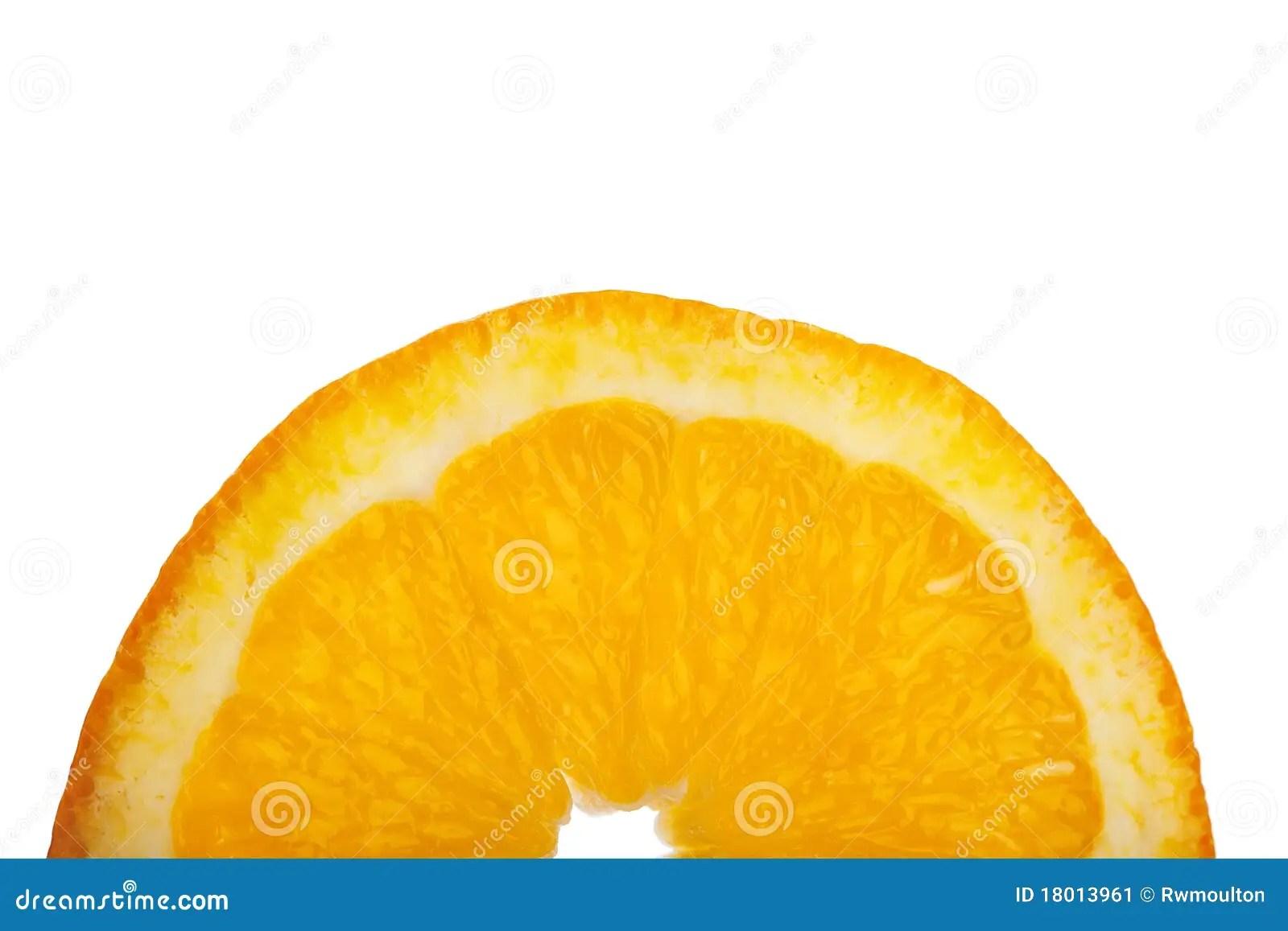 Half Orange And Orange Slice Royalty-Free Stock Photo