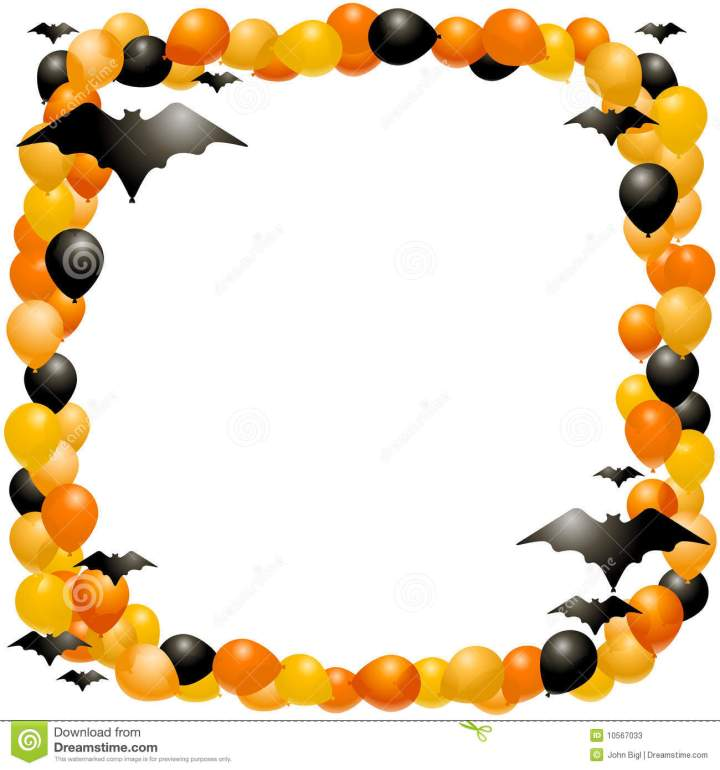 Free Halloween Borders And Frames | Newchristmas.co
