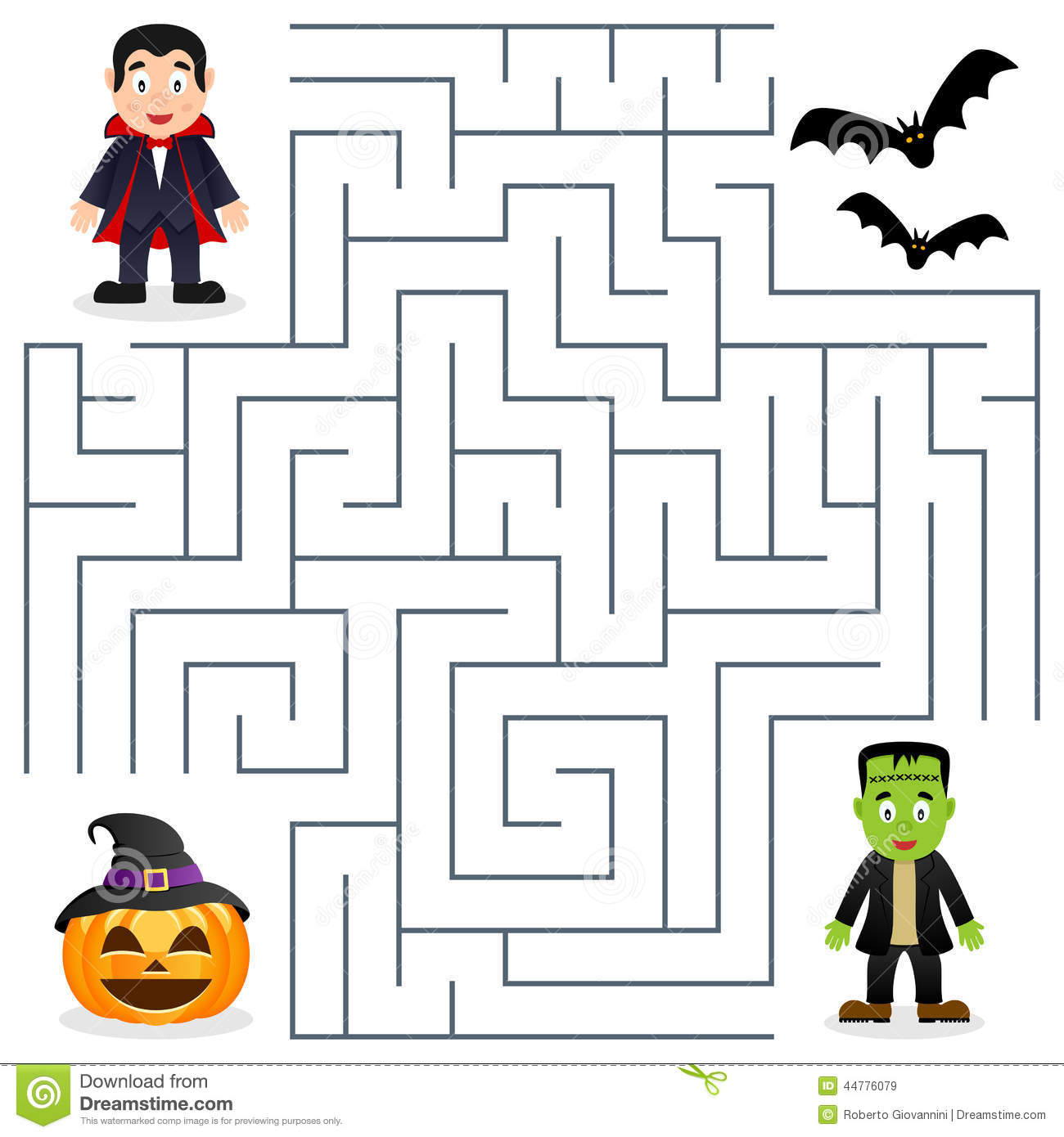 Worksheet Spring Maze Printable