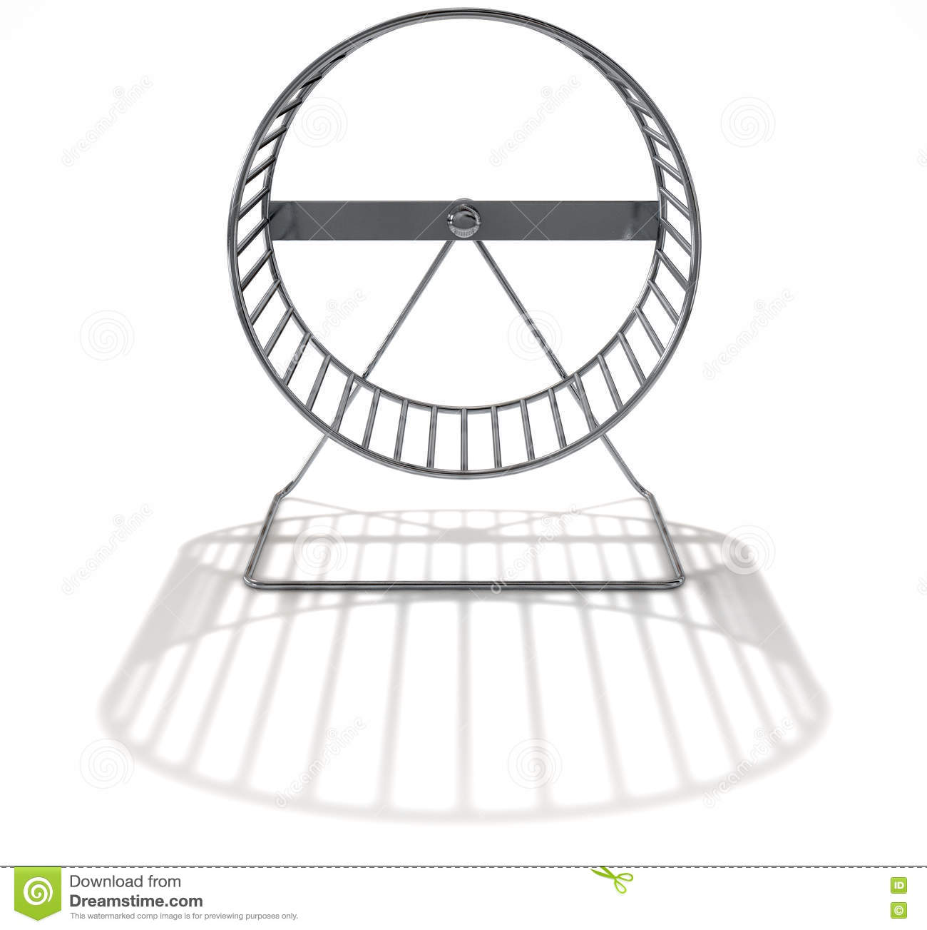 Hamster Wheel Empty Stock Image Image Of Workout Hamster