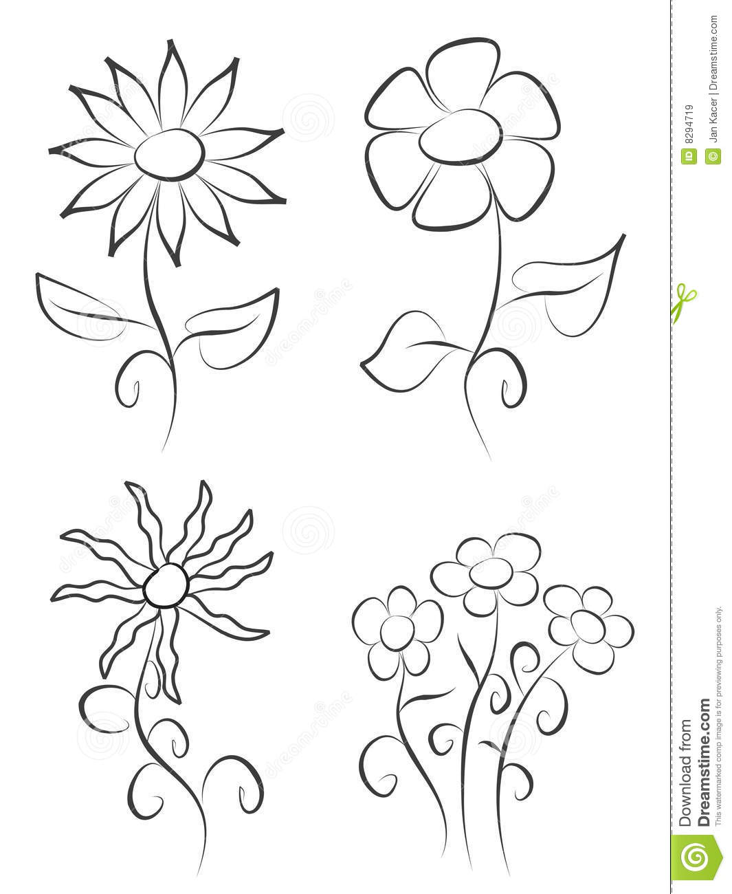Easy Step By Step To Paint Flowers
