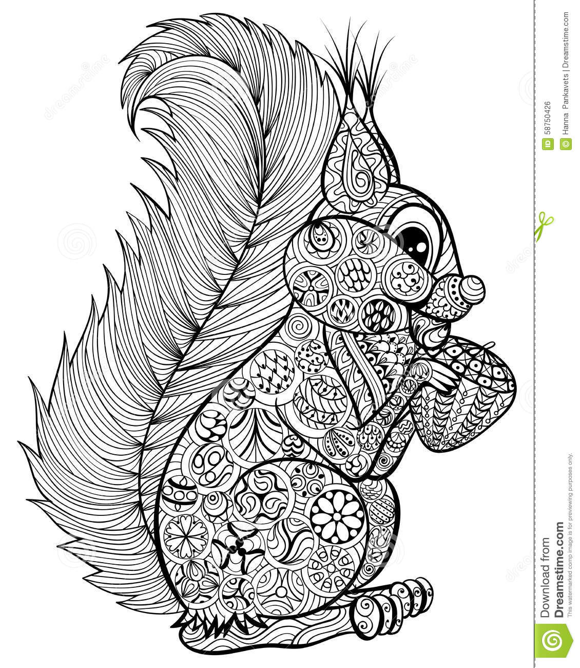 Free Coloring Pages Of Anti Stress Animal