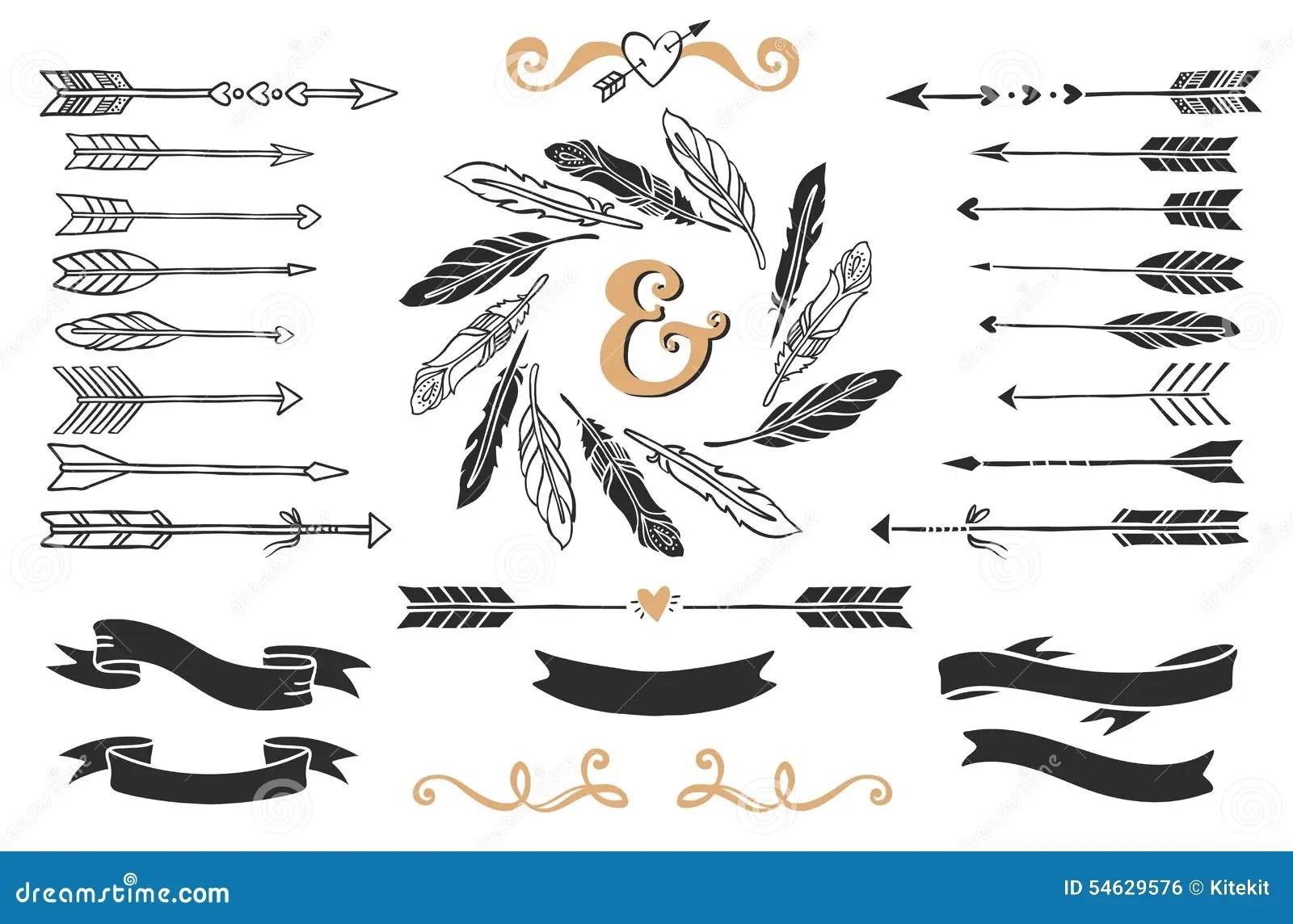 Bea Arrow Line Art
