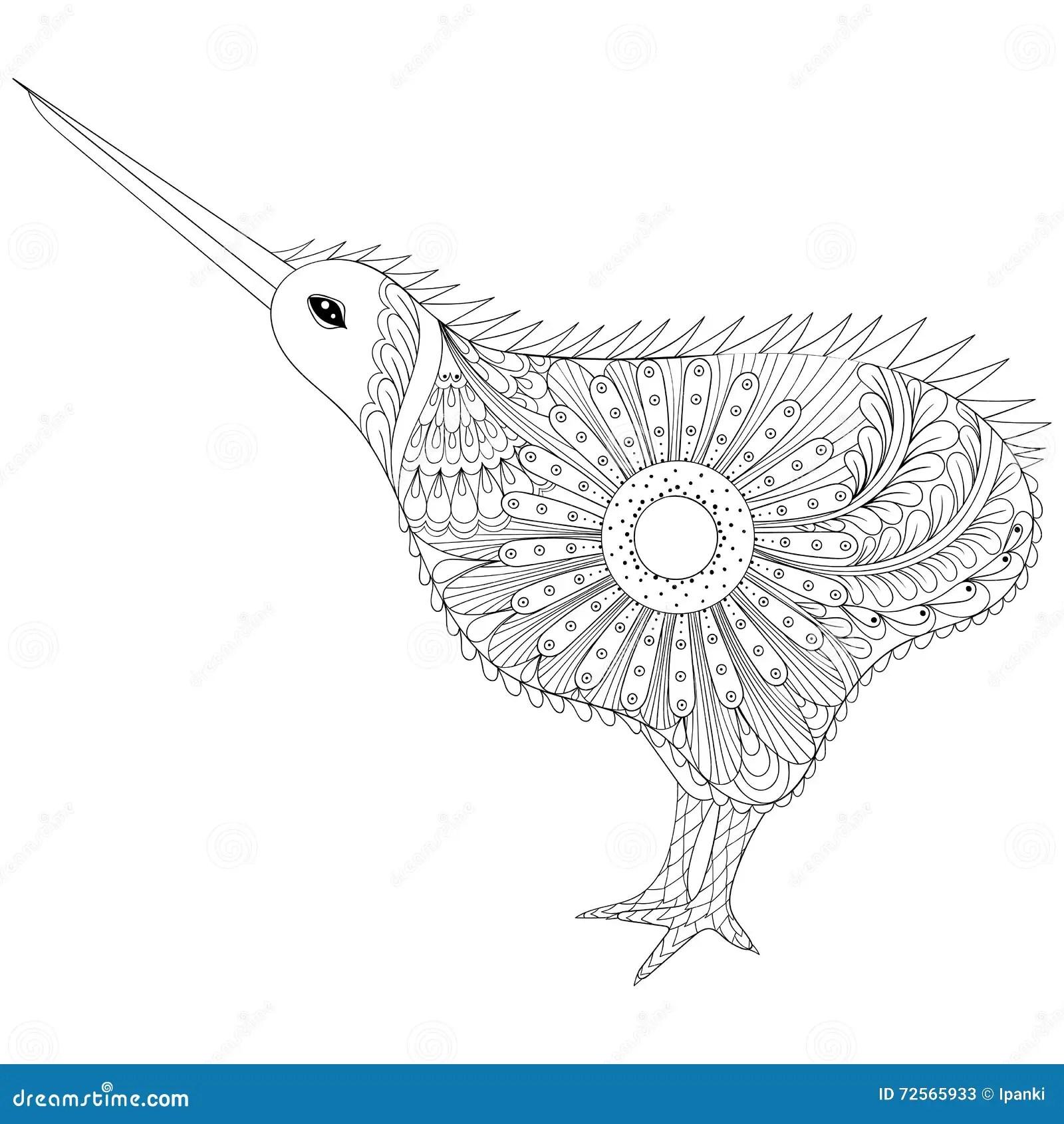 Kiwi Bird Icon Vector Illustration