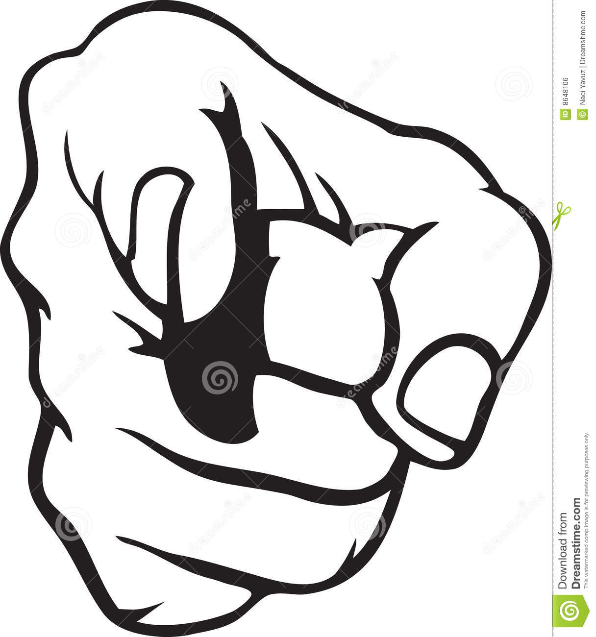 Hand Pointing Royalty Free Stock Image