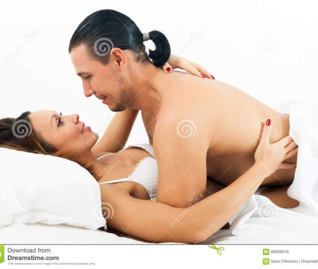 Handsome Man And Woman Having Sex