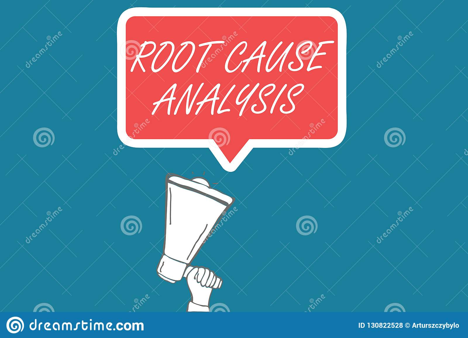 Handwriting Text Root Causeysis Concept Meaning Method Of Problem Solving Identify Fault