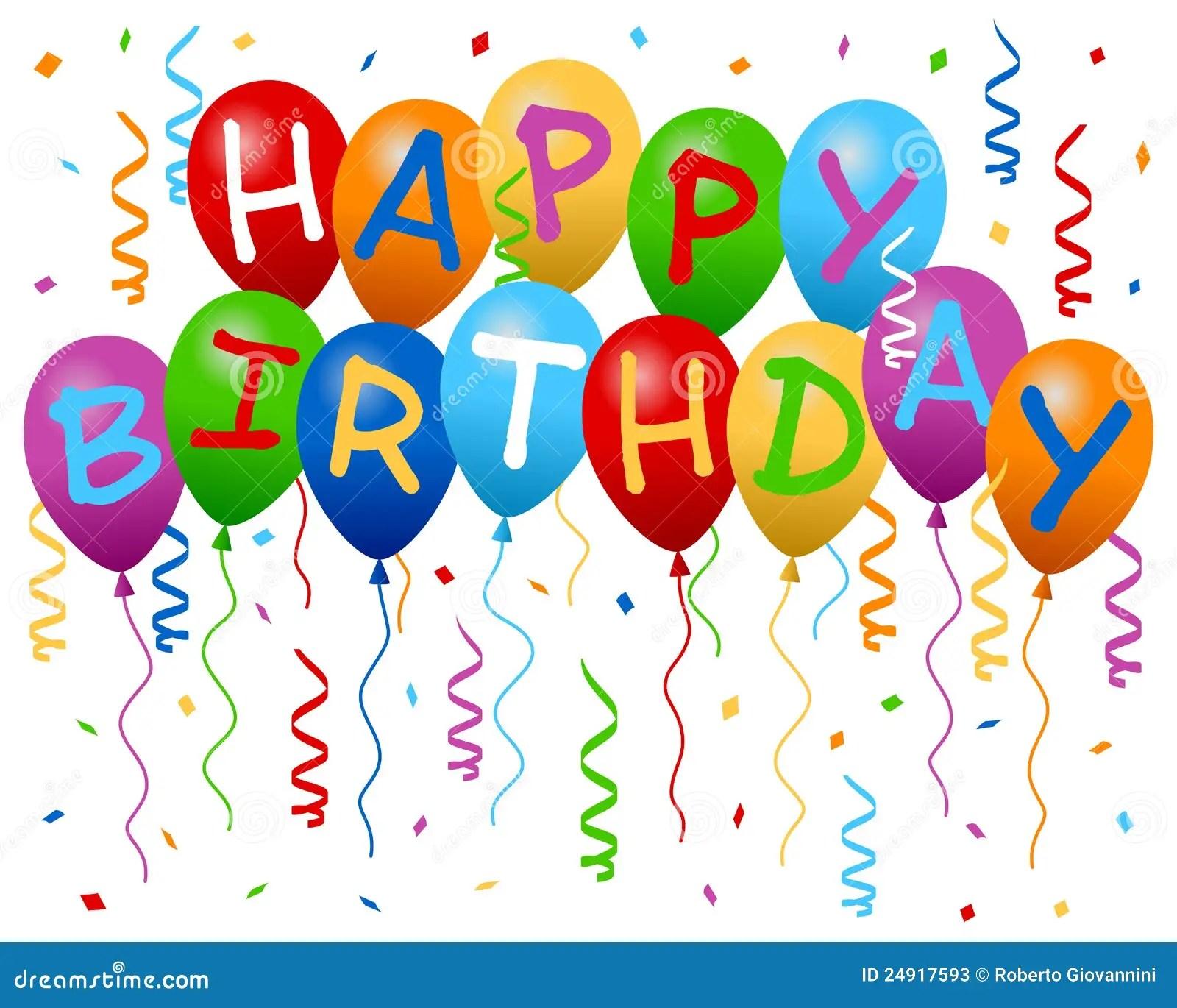 Birthday Balloons Stock Illustrations 71 256 Birthday Balloons Stock Illustrations Vectors Clipart Dreamstime