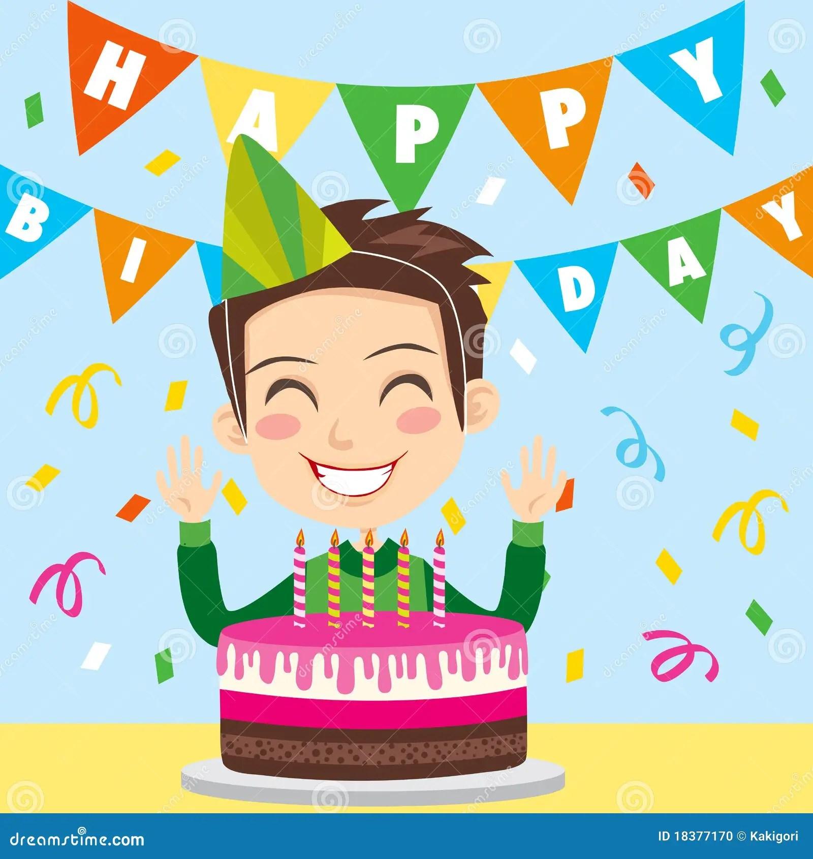 Happy Birthday Boy Stock Photo Image 18377170