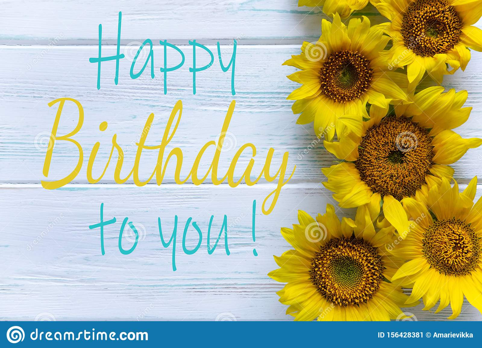 223 Sunflower Happy Birthday Card Photos Free Royalty Free Stock Photos From Dreamstime