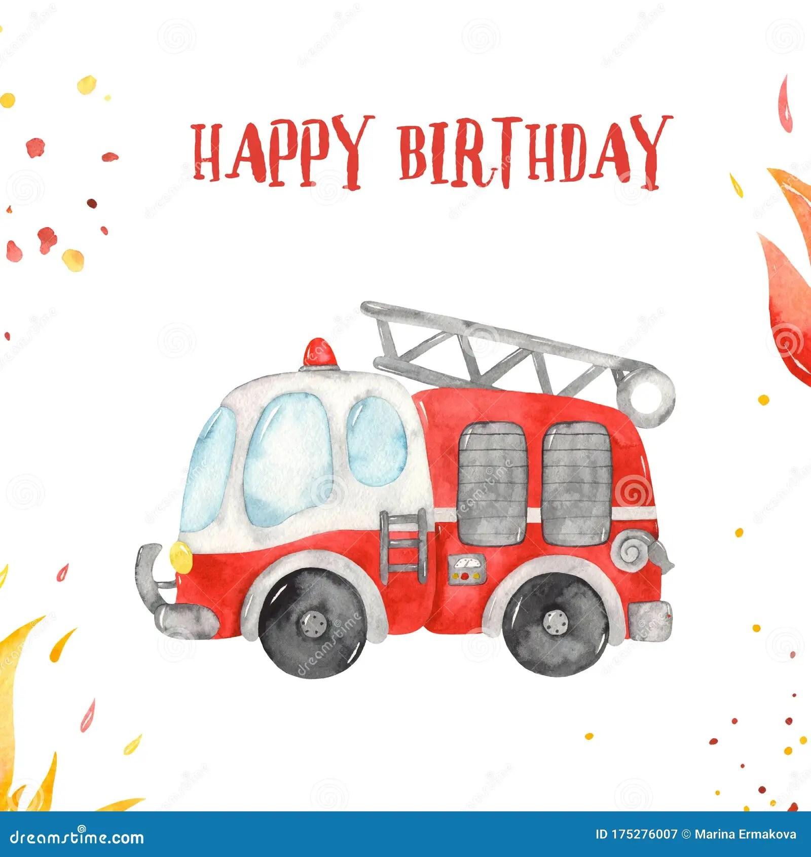 Birthday Happy Truck Stock Illustrations 360 Birthday Happy Truck Stock Illustrations Vectors Clipart Dreamstime