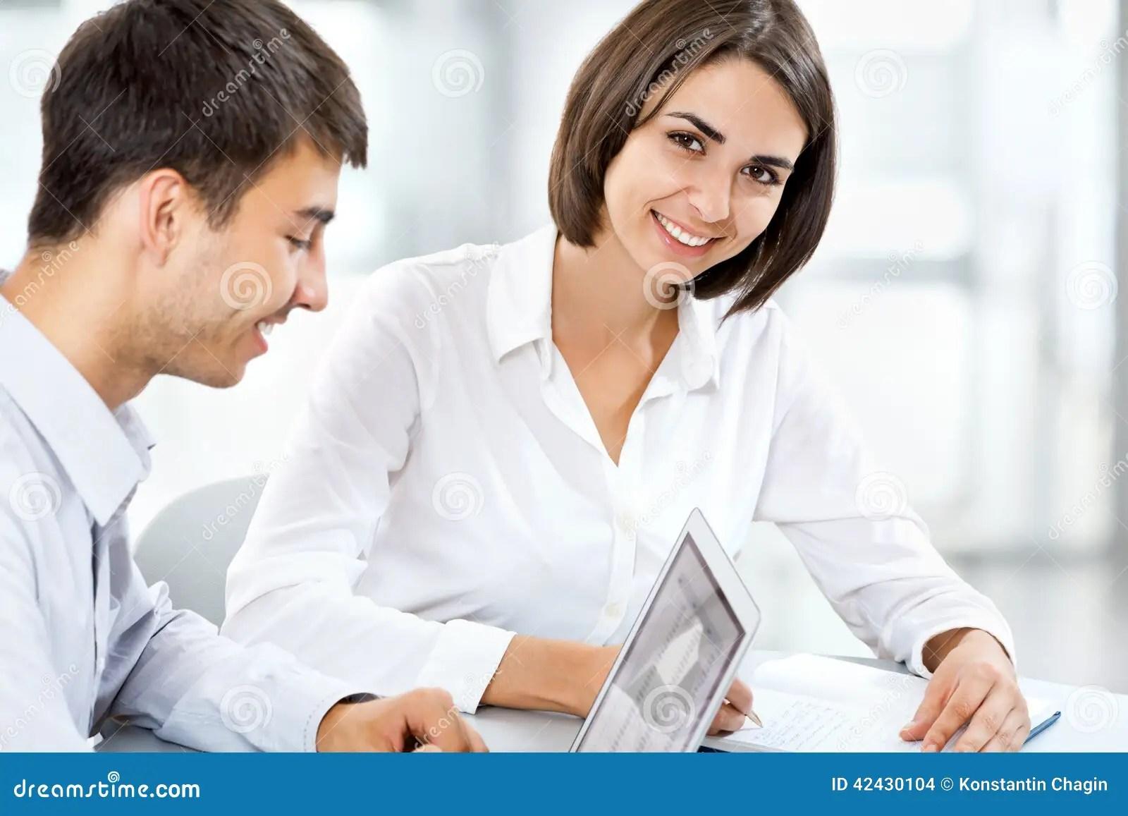 Happy Business People Stock Photo Image 42430104