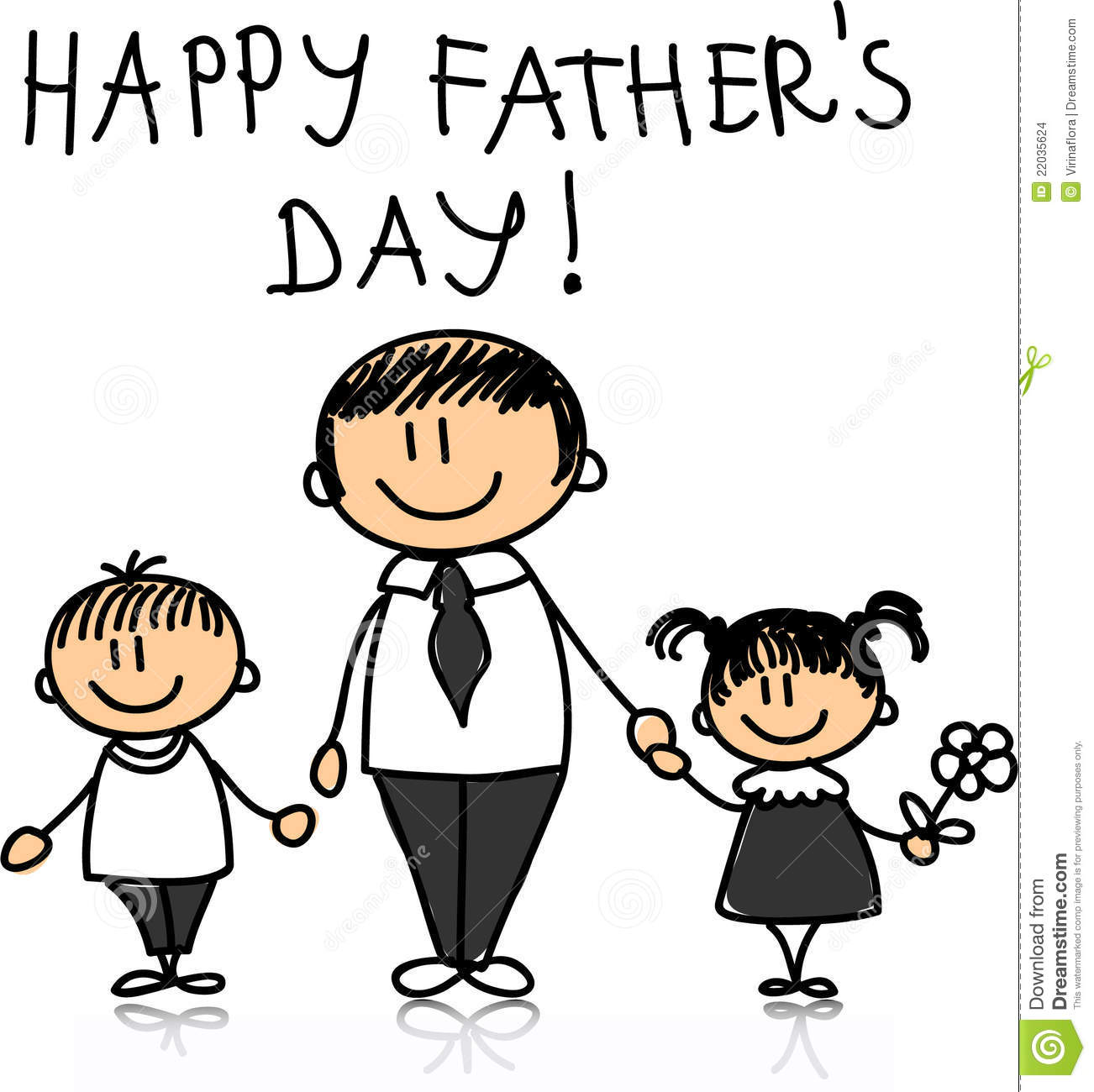 Happy Father S Day Vector Stock Images