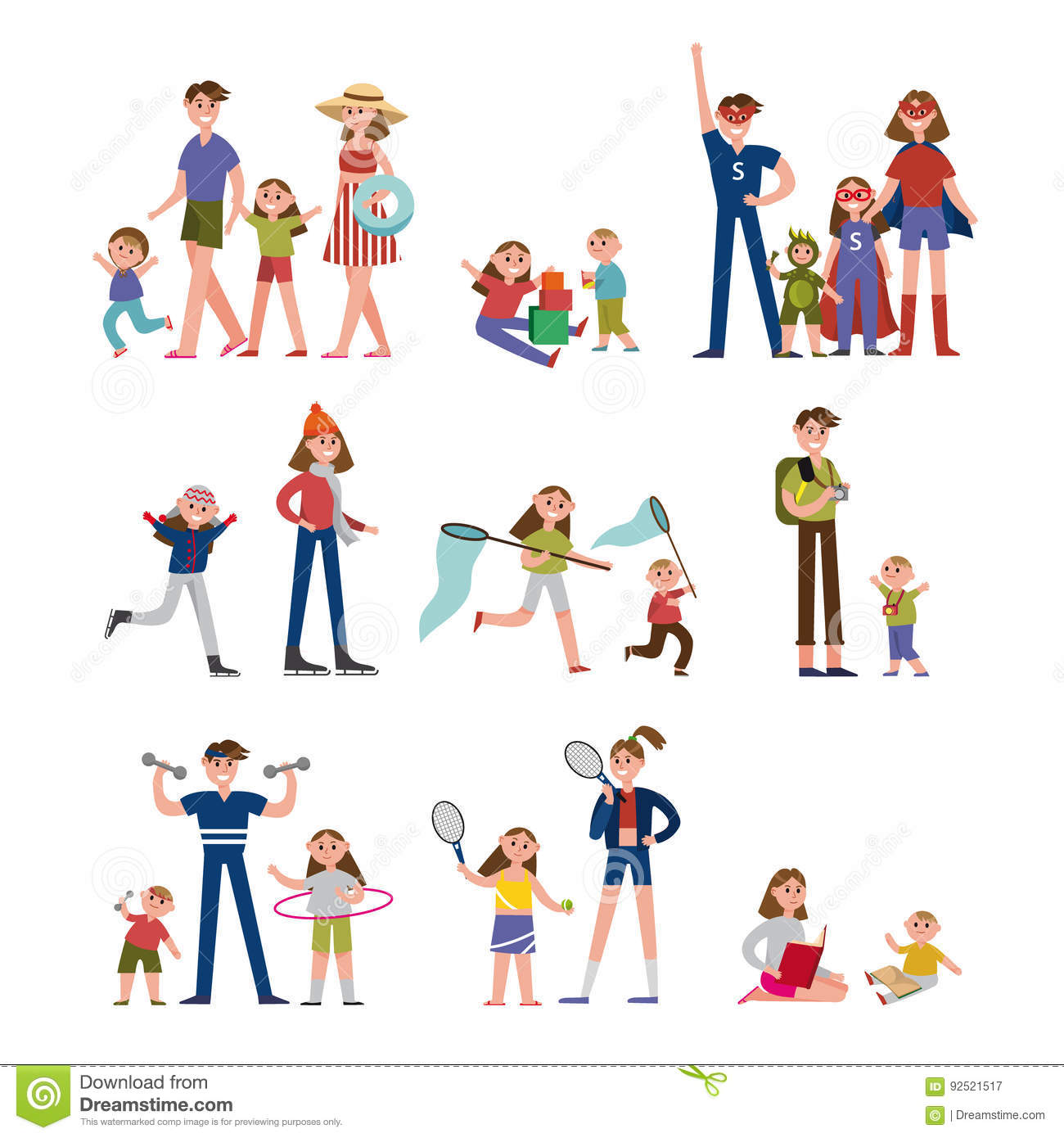 Leisure Cartoons Illustrations Amp Vector Stock Images