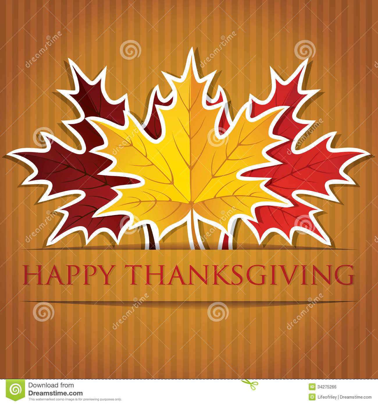 Happy Thanksgiving Royalty Free Stock Image Image 34275266