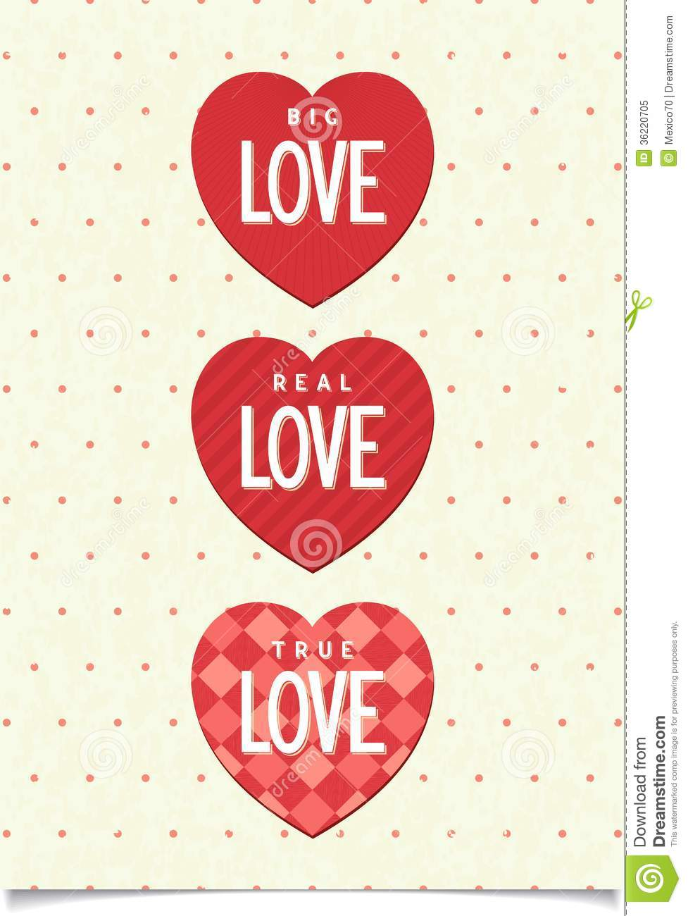 Happy Valentines Day Card Stock Vector Image Of Poster