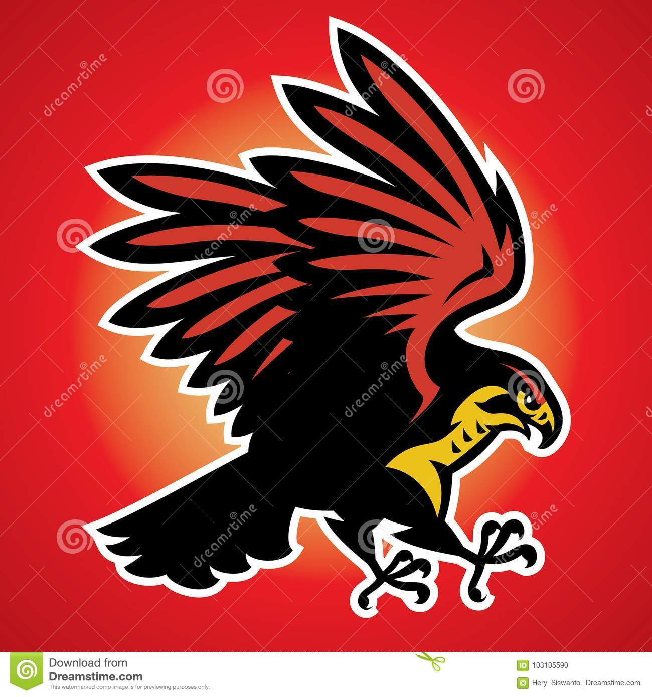 Hawk Cartoons Illustrations Amp Vector Stock Images 12742 Pictures To Download From