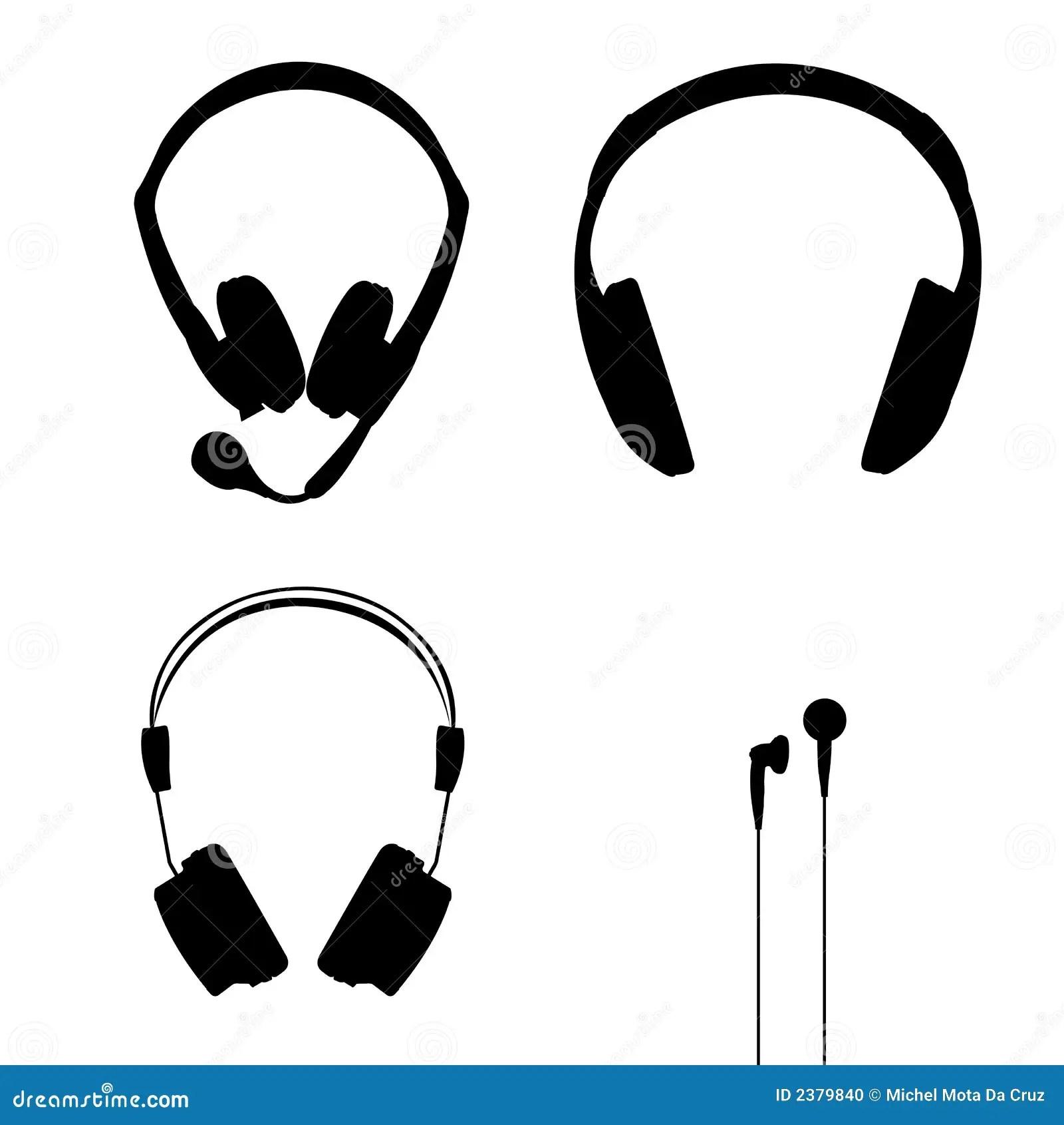 Headphones Vector Stock Vector Illustration Of Earphones