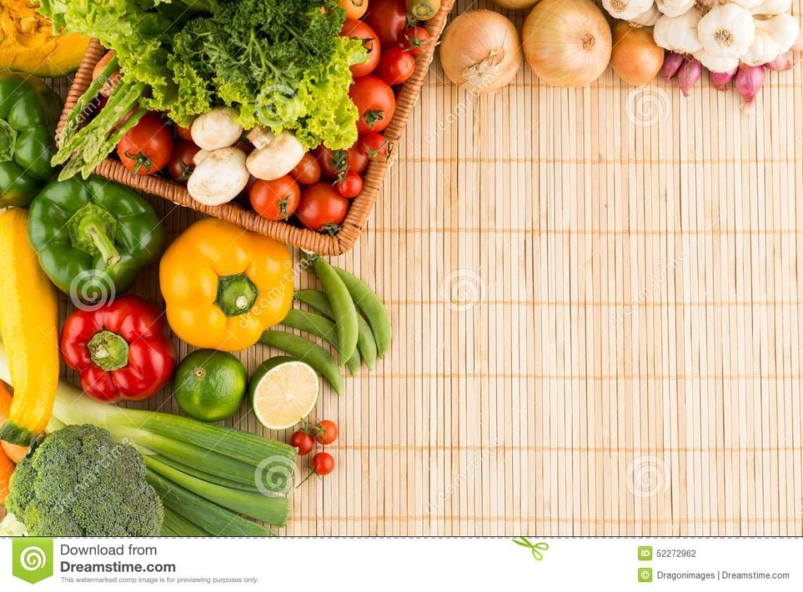 Healthy Eating Background Stock Photo - Image: 52272962