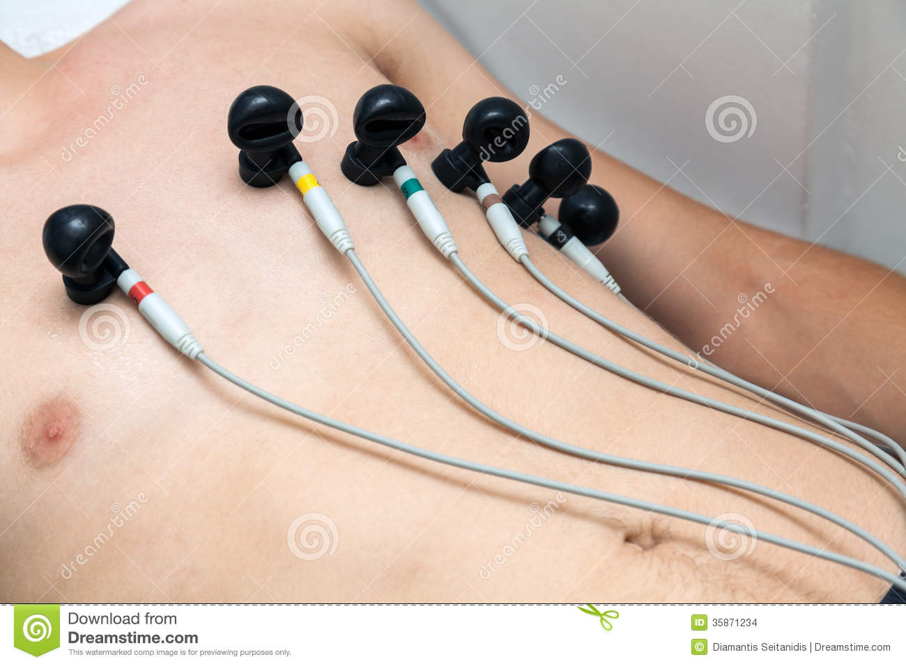 Heart Exam Stock Photo Image Of Patient Health Medical