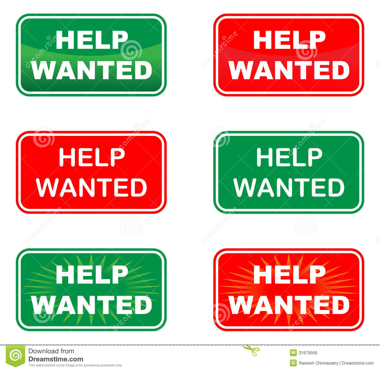Help Wanted Royalty Free Stock Image